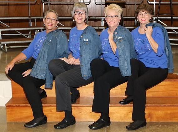 quartet sitting